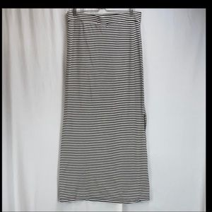 Threads 4 Thought Maxi stripe pull on skirt Large
